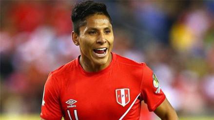 Selección Peruana: Raúl Ruidíaz tuvo problemas en el primer entrenamiento