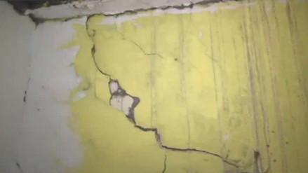 Vecinos denuncian deterioro de viviendas a causa de obras por Línea Amarilla