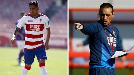 Granada despidió a José Luis Oltra y Sergio Peña se quedó sin entrenador