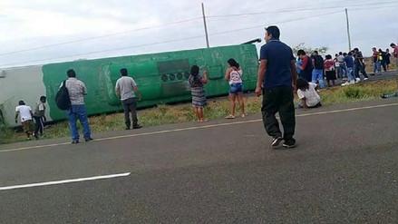 Conductor que ocasionó accidente de bus dio positivo a dosaje etílico