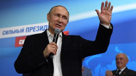 El presidente de Cuba felicitó a Vladimir Putin por su victoria en las elecciones rusas