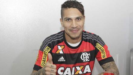 Flamengo desea extenderle el contrato a Paolo Guerrero