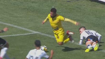 La descarada simulación que engañó a un árbitro en Chile