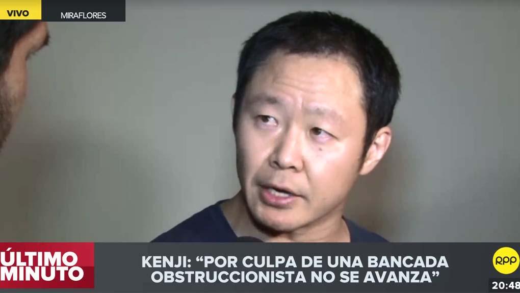 Kenji Fujimori dijo que lamenta