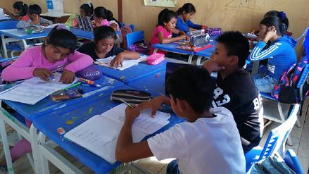 Solicitan libros y más docentes para escolares de albergues en Piura