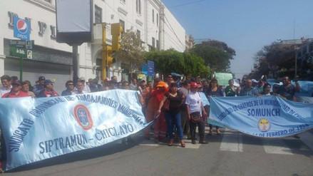 Reportan déficit de personal para servicio de limpieza en Chiclayo