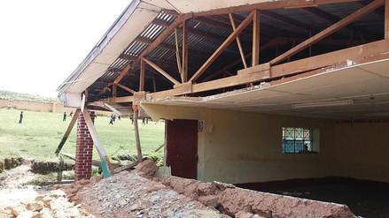 Jauja: colapsó infraestructura de colegio en distrito de Sincos