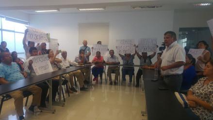 Manifestantes de Olmos condicionan participación en Mesa de Diálogo de la PCM