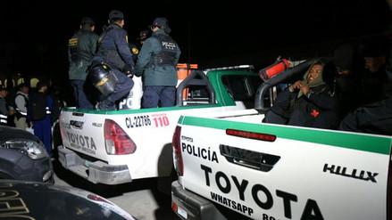 La Policía desbarató a 'Los Malditos de Chumbivilcas' en un megaoperativo en Arequipa