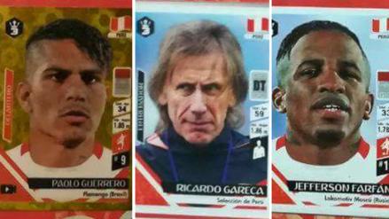 Las figuritas de la Selección Peruana en el álbum del Mundial de '3 Reyes'