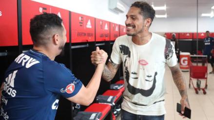 Las mejores postales del regreso de Paolo Guerrero a los entrenamientos con Flamengo