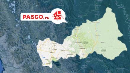 Un sismo de 5.3 grados se registró en Pasco