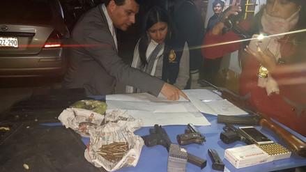 Capturan a organización criminal que planeaba asalto a dos bancos