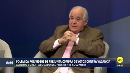 """Alberto Borea sobre su video: """"No he estado haciendo un cabildeo"""""""