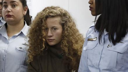 Ocho meses de cárcel para la menor palestina que abofeteó a un soldado israelí
