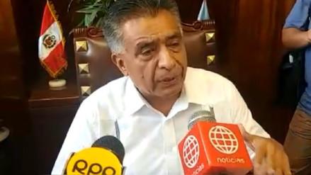 Alcalde de Chiclayo pide nuevas elecciones generales