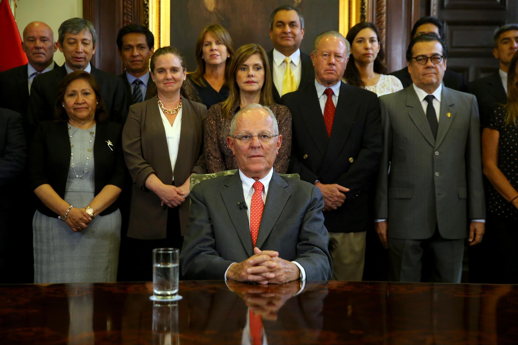 Pedro Pablo Kuczynski renunció a la Presidencia del Perú