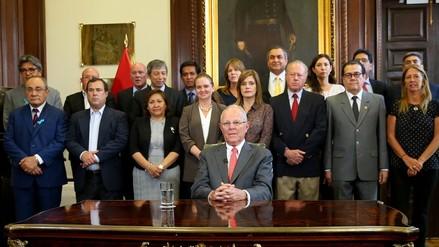 Integrantes del gabinete Ministerial presentaron sus renuncias a PPK