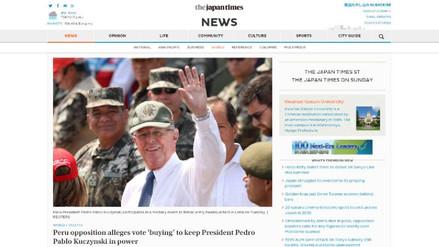 La prensa internacional informó así sobre la crisis política en Perú
