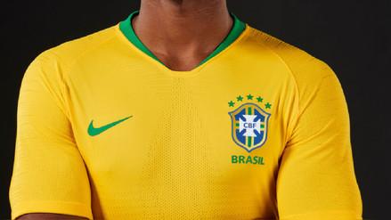 Esta es la camiseta que usará Brasil en el Mundial Rusia 2018