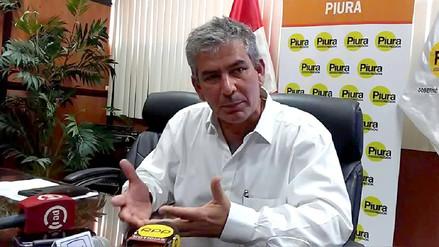 """Gobernador de Piura: """"El cambio de ministros retrasa hasta en 2 meses la gestión de obras"""""""