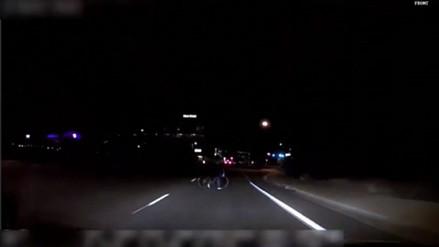 Policía difundió video del accidente de auto sin conductor de Uber que atropelló y mató a mujer