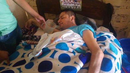 Exfutbolista cajamarquino quedó cuadripléjico y pidió ayuda