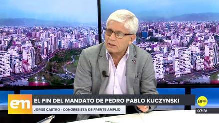 """Castro sobre impedimento de salida del país para PPK: """"Hay que tomar previsiones"""""""
