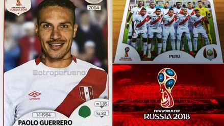 Álbum Panini: las figuritas de los jugadores de la Selección Peruana