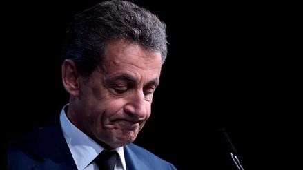 Nicolas Sarkozy fue acusado por presunto financiamiento libio en su campaña de 2007
