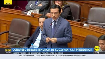 Violeta aseguró que líderes del chavismo se burlaron de Perú tras la renuncia de PPK