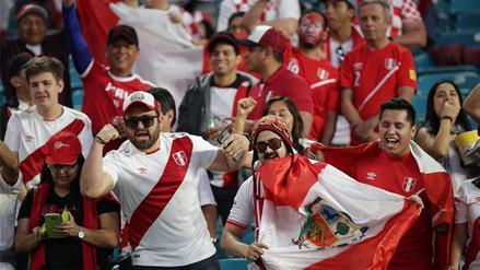 Mira la fiesta que se vivió en la previa del Perú vs. Croacia