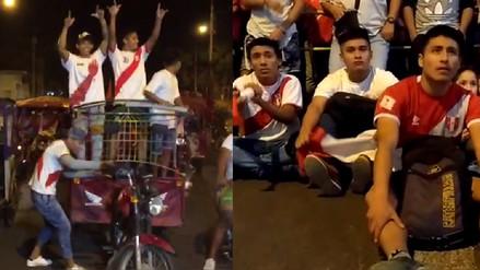Ciudades del interior de país también vibraron con el Perú Croacia