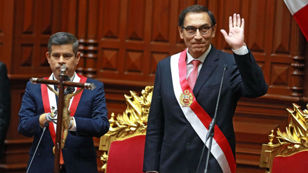 Los cuatro lineamientos de gobierno anunciados por Martín Vizcarra