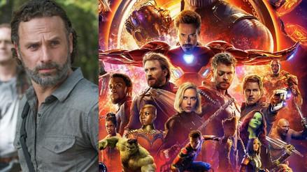 """""""The Walking Dead"""" se burla de """"Avengers: Infinity War"""""""