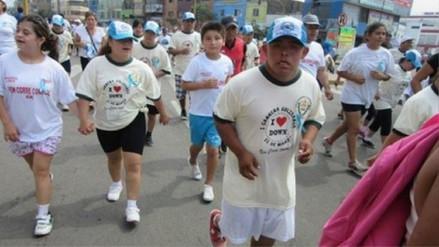 Con maratón rinden homenaje a personas con Síndrome de Down en Trujillo