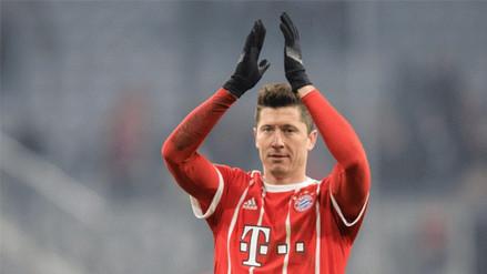 Lewandowski confesó que quiere dejar el Bayern Munich, según prensa española