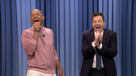 Will Smith y Jimmy Fallon cantaron los temas de las series más famosas