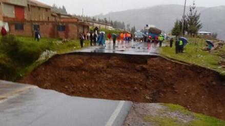 Se habilitará vía alterna tras colapso de carretera Lima-Huaraz