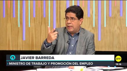 Barreda descartó que el Gobierno haya impuesto el alza del sueldo mínimo