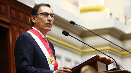 Video | Este fue el primer discurso de Martín Vizcarra como presidente de la República