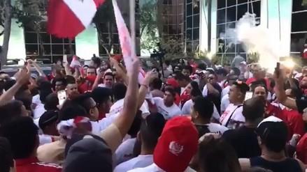 Así fue el banderazo de los hinchas de la Selección Peruana en Miami