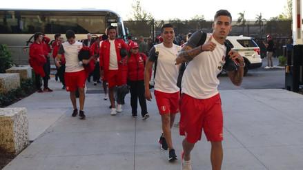 Así fue la llegada de la Selección Peruana al Hard Rock Stadium