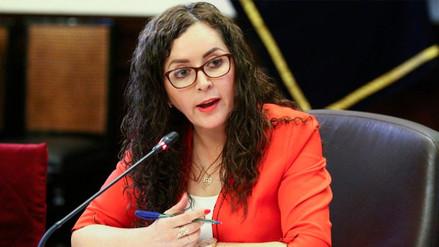 Rosa Bartra dijo que Fuerza Popular no integrará nuevo Gabinete Ministerial