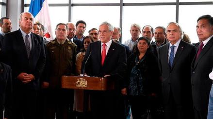 Sebastián Piñera firmó proyecto que modifica la Ley Antiterrorista