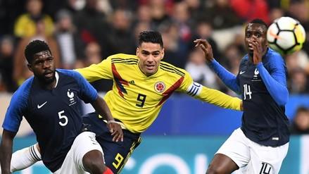 Recuperación y en primera: Radamel Falcao anotó un golazo ante Francia