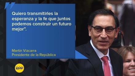 Vizcarra asumió la presidencia: las frases que dejó en su mensaje a la nación