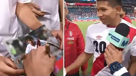 Todos lo quieren: el gran gesto de Edison Flores con un niño estadounidense