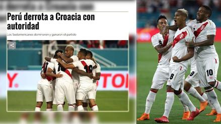 Así informaron en el mundo el triunfo de la Selección Peruana ante Croacia