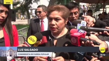 Salgado dijo que hubo hasta cinco borradores de la aceptación de la renuncia de PPK